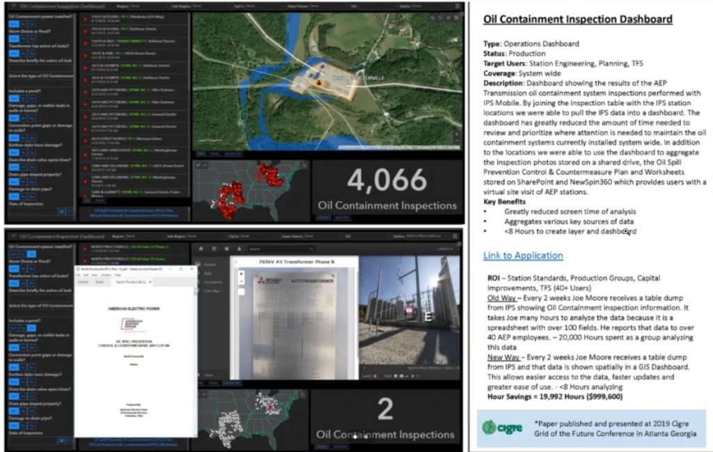 Oil Containment Inspection Dashboard